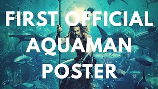 First Official Aquaman Poster