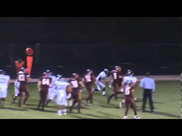 10-11-13 - It's another 15 yard score for Randy Baker (Brush 13, Valley 0)