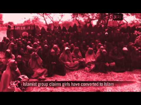 one minute nigeria boko haram missing girls Islamic terrorists 2014