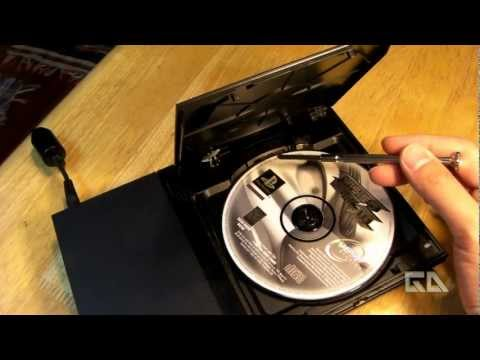 [How To] Install the Tape. Tissue. and Straw Mod for Slim Playstation 2 Tutorial! [CC]