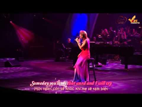 [Lyric+Vietsub YANST] Goodbye (The Saddest Word Live World Children's Day) - Celine Dion [HD]