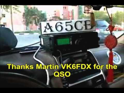 Unboxing, setting, firing of FT897D with buddipole antenna
