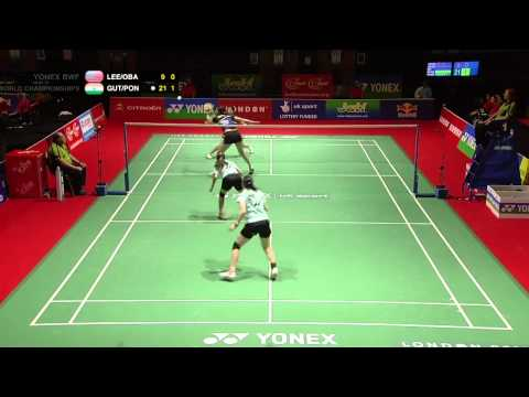 R64 (Day 1) - WD - Eva Lee/P.Lynn Obanana  vs J.Gutta/A.Ponnappa - Yonex BWF World Champs '11