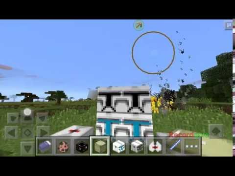 MINECRAFT PE star wars texturepack and cool mobs new staff in 0.13