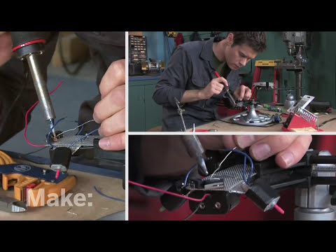 Maker Workshop - Miniature Robots on Make: television