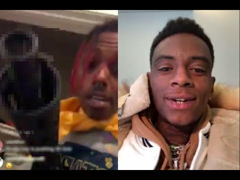 """Famous Dex Checks Soulja Boy On Ig - Says """"stop Playing With Me I'll Find You"""""""