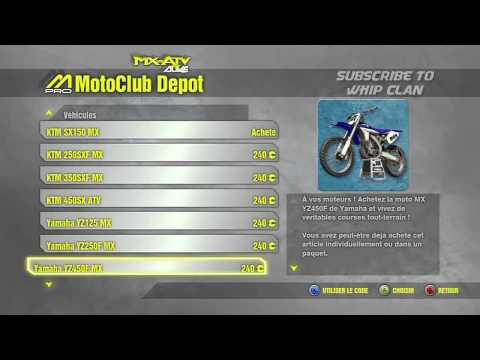 Mx vs. ATV ALIVE   Motoclub Depot is back online [Xbox 360]