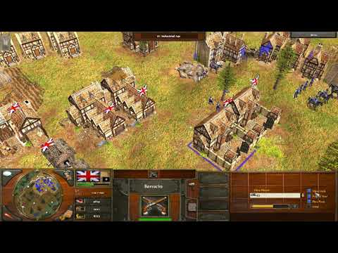 Age Of Empires III (3) Gameplay Commentary - Beginners tactics