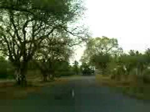 tamil nadu village road video by nowshath(AMBUR)