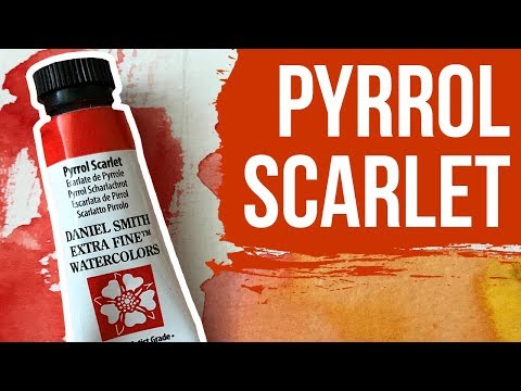 I Finally Review PYRROL SCARLET by Daniel Smith | The Paint Show 41