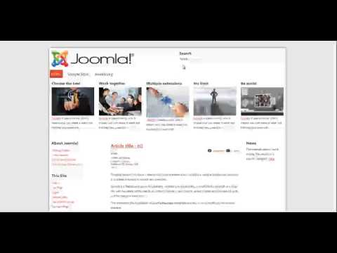 Joomla template maker videominecraft template creator ck 3 overview simple demo create your joomla template in 7minutes pronofoot35fo Choice Image