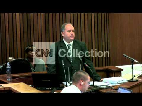 SOUTH AFRICA: PISTORIUS TRIAL - DAY 15