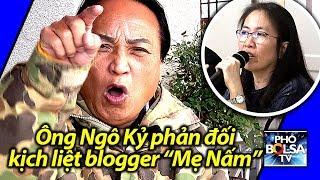 """Ông Ngô Kỷ phản đối kịch liệt blogger """"Mẹ Nấm"""" Nguyễn Ngọc Như Quỳnh"""