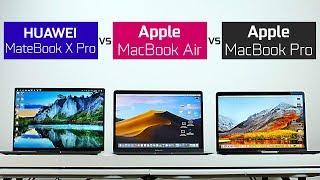 2018 MacBook Air/Pro vs Huawei MateBook X Pro