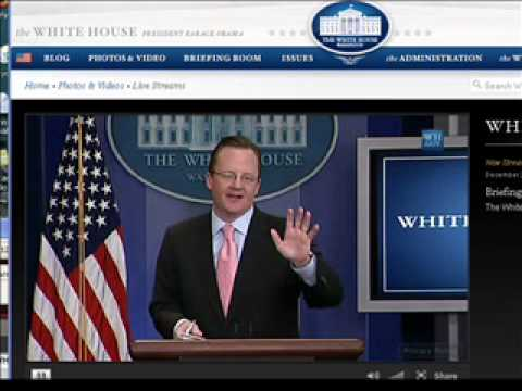 Robert Gibbs Asked About Parker Griffith Party Switch During White House Press Briefing