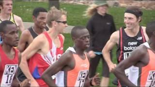 Watch Ryan Hall race the 2011 Bolder Boulder men's pro race in 5 minutes
