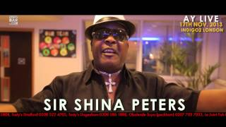AY LIVE COMEDY SHOW UK 2013 - SPECIAL LIVE PERFORMANCE FROM SIR SHINA PETERS.