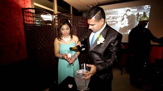 How to pop a champagne during a wedding reception