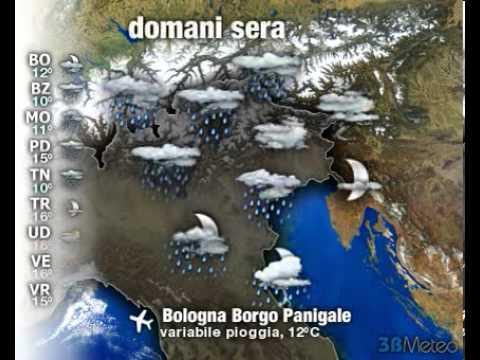 Meteo ITALIA del 19/04/2013