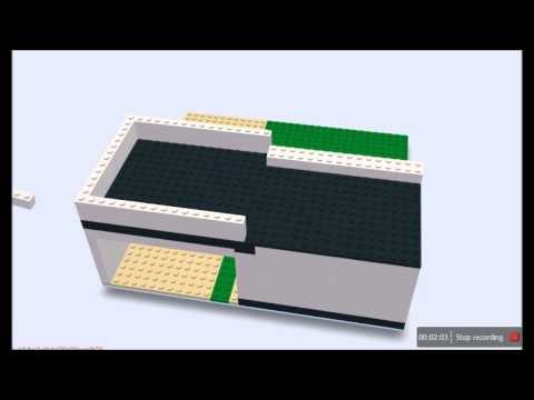Build with chrome - basic startup house in LEGO