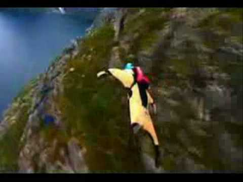 The best wing suit /skydive from you tube PART1