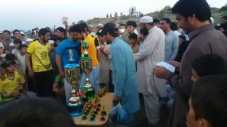 cricket  presentations in hangu kahi