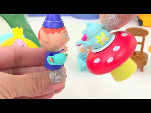 Ben and Holly's Little Kingdom #14 | Tea Party with Fairy and Elf Ben | itsplaytime612
