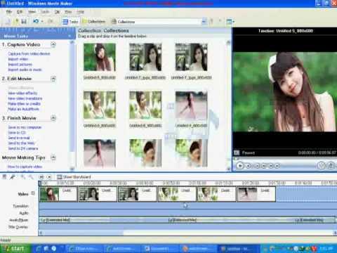 Hướng dẫn làm video từ hình ảnh và âm thanh