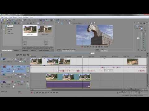 Урок 11 Sony Vegas Pro Советы по дорожкам и клипам