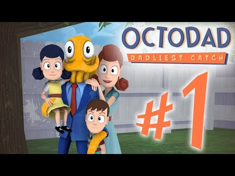 Octodad : Dadliest Catch - Parte 1: Pai de Família Exemplar!? [ Playthrough - Indie ]