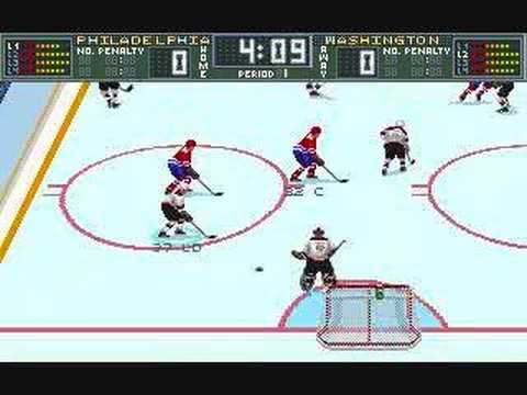 Brett Hull Hockey 95 PC - Gameplay part 1 of 2 Video