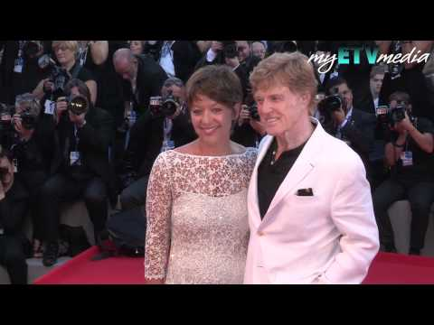 Robert Redford And Shia LaBeouf On The Company You Keep Red Carpet Premiere In Venice