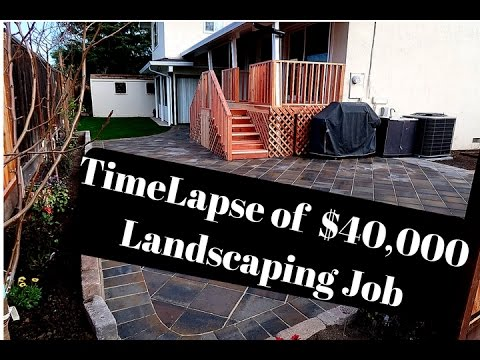 Time Lapse of $40,000 Landscaping Transformation