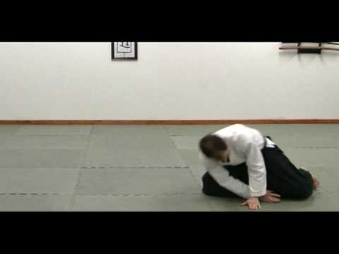 Aikido - Ushiro Ukemi - Backward Roll Image 1