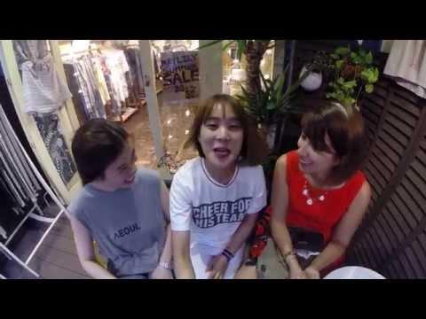 Una giapponese, una coreana ed un'italiana!