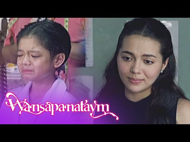 Wansapanataym: Bitoy breaks in tears upon learning that he is not Annika's savior