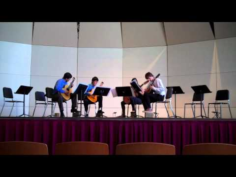 Vals No. 2(Biberian) - UNC Guitar Ensemble