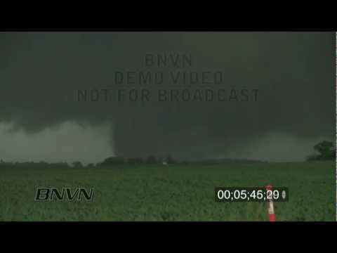 6/17/2010 Southern Minnesota Tornado Outbreak Stock Video