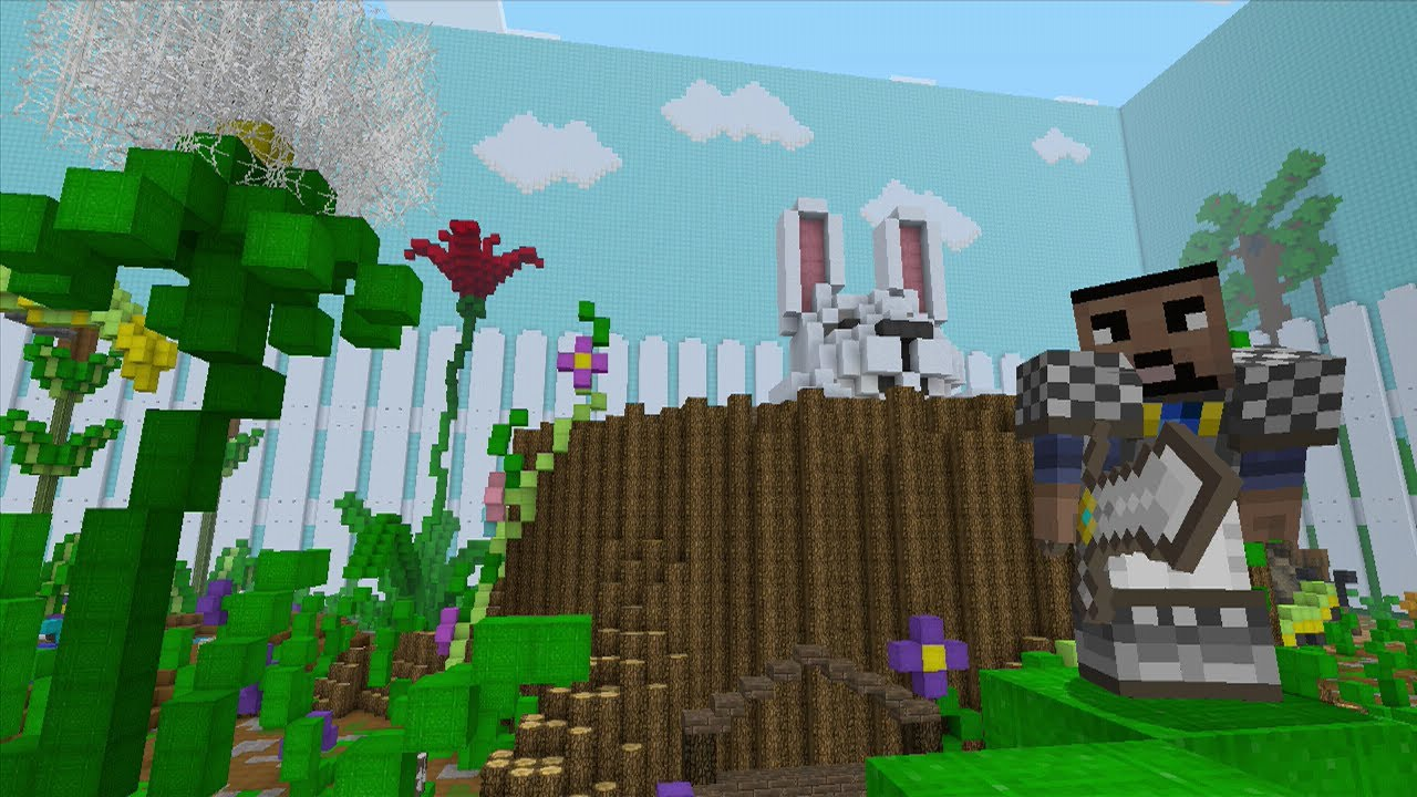 Minecraft  Xbox 360  - Spring To Life - Hunger Games