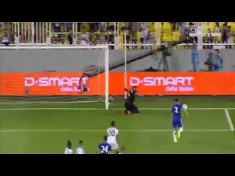 Branislav Ivanovic Goal Fenerbahçe vs Chelsea 0-2 Friendly Match 2014