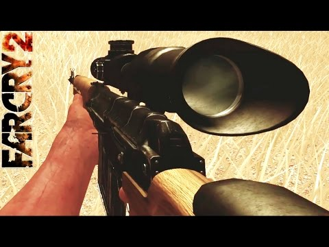 Far Cry 2 Gameplay: Sniper Weapon & Explosion Kills