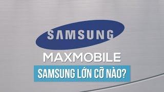 MaxInfo #12 - Samsung lớn cỡ nào ?