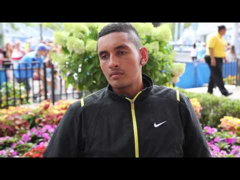 US Open 2014 Nick Kyrgios Interview