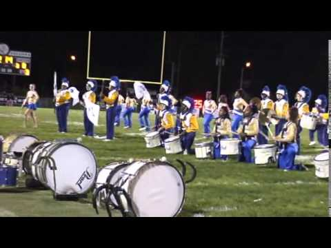 Timken High School Marching Band Half Time Drum Show