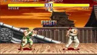 Street Fighter II Guile All Perfect 1/2