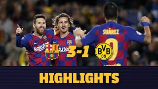 HIGHLIGHTS | Barça 3-1 Borussia Dortmund