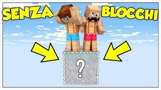 GIOCARE A MINECRAFT SENZA BLOCCHI SOTTO I PIEDI! - Minecraft ITA