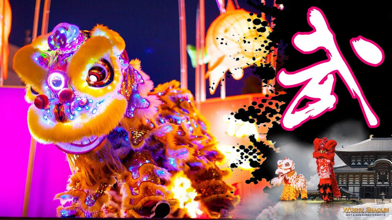 Lion Dancing Drawing Dragon Dance Lion Dance Team