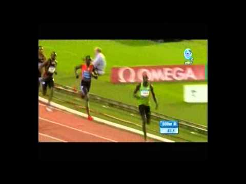 Men&#039;s 800m Bruxels 2011 Davis Rudisha