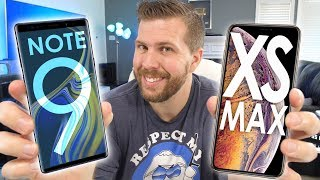 iPhone Xs MAX vs Galaxy Note 9 - Which Phone to Buy?